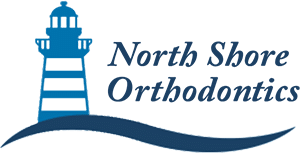 The logo for North Shore Orthodontics