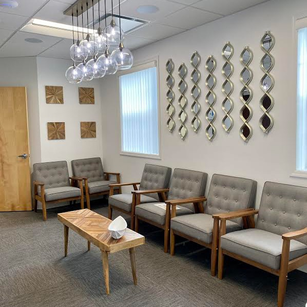 The waiting room at North Shore Orthodontics in Smithtown NY